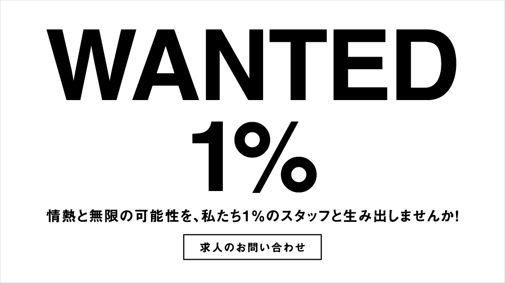WANTED 1%